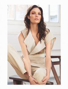 visual optimism; fashion editorials, shows, campaigns & more!: senzualni pasteli : alexandra martynova by djamel boucly for elle croatia march 2015