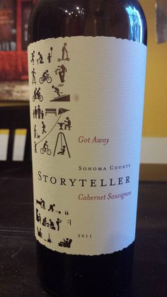 I want this, I want this!! .... 2011 Storyteller Cabernet Sauvignon