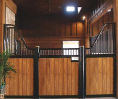 Classic Euro Low Rise Stall Front available online at Barn Pros