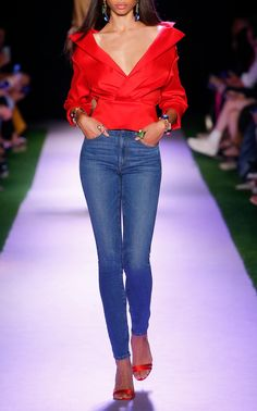 Get inspired and discover Brandon Maxwell trunkshow! Shop the latest Brandon Maxwell collection at Moda Operandi. Pleated Midi Dress, Midi Shirt Dress, Brandon Maxwell, Mid Rise Skinny Jeans, Daily Fashion, Women's Fashion, Ready To Wear, Women Wear, My Style