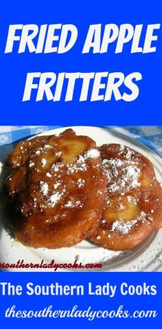 I call these apple fritters amazing because to me they are that good. I love just about any kind of fritter but I think this one is my favorite. We don't have these often because …