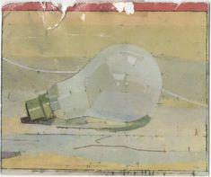 Euan Uglow, Boxing Day, Lightbulb, 1999