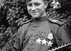 Самый молодой кавалер 3-ёх орденов Славы | Красная Армия