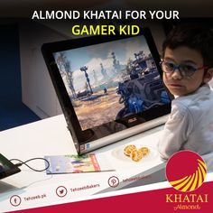 #AlmondKhatai for your gamer kid! #TehzeebBakers