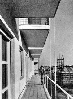mario asnago e claudio vender - edificio per abitazioni e uffici, viale tunisia, milano 50, 1935