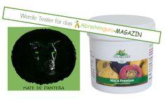 Wir dürfen das Maca Premium Pulver von Mate de Pantera für euch zum Testen vergeben. Interesse? Ausschreibung vom 30.04.2015-08.05.2015. Weitere Infos findet ihr hier: http://www.abnehmguru-magazin.de/maca-pulver-test/