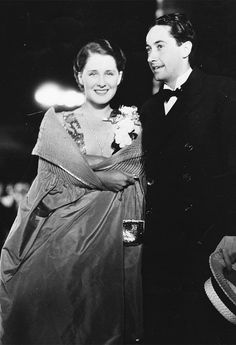 Norma Shearer and Irving Thalberg attend the premiere of White Shadows in the South Seas, 1929