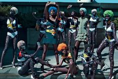 The Now Squad – Steven Klein for Vogue Italia