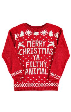 Home Alone Christmas Sweater!