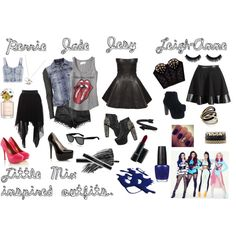 """Little Mix inspired outfits ;)"" by olivia-beth-amstutz on Polyvore"