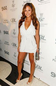 vanessa minnillo- love her style! Love Fashion, Runway Fashion, Fashion Models, Fashion Outfits, Celebrity Beauty, Celebrity Style, Nick And Vanessa, Vanessa Minnillo
