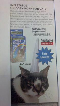 Cats love it? Seems legit.