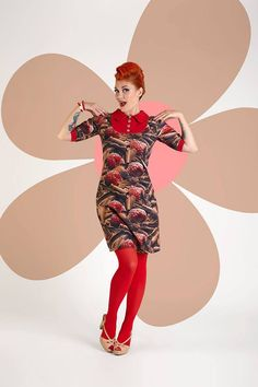 Buy your new dress on newdress.dk  Margot dress: Austin Sugarchock Spring 2016 #newdress_dk #retrodress #vintagedress
