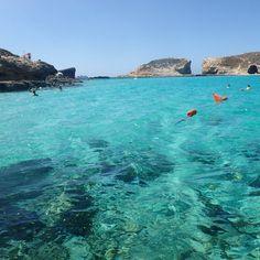 Comino Island aka Blue Lagoon, Malta.