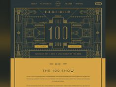The Underbelly Team had the honor to design and build the 2014 AIGA SLC 100 Show website.   It turned out quite nice if you ask me!  http://www.aigaslc100show.com