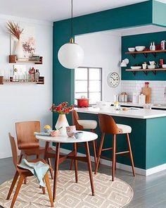 Cozinha integrada.