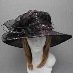 Sequin Hat Dressy Hat Wedding Hat Kentucky Derby by HatPhaestus