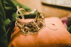South Indian Jewelry - Ankit & Prerna wedding story | WedMeGood | Temple Jewelry Gold Choker #wedmegood #indianbride #indianjewlery #jewelry #weddingjewelry #choker #templejewelry