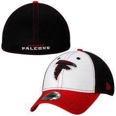 Youth Atlanta Falcons White Training Camp 39THIRTY Flex Hat