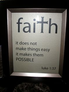 Faith it does not make things easy it makes them by nlcorder, $14.99 @ www.etsy.com/...    My feelings lately