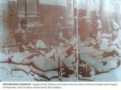 Surabaya, Colonial, Police, Indie, War, History, Artist, Painting, Archipelago