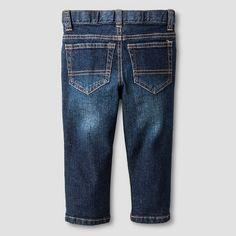 Baby Boys' Skinny Jeans Baby Cat & Jack™ - Dark Wash : Target