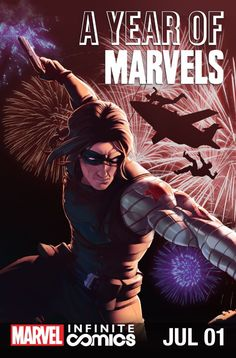 A Year Of Marvels: July Infinite Comic #1 #Marvel @marvel @marvelofficial (Cover Artist: Jamal Campbell) Release Date: 6/29/2016