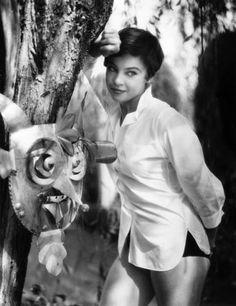 Leslie Caron, 1954