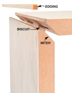 AW Extra - Plate Joiner Tips and Techniques - Popular Woodworking Magazine Woodworking Joints, Beginner Woodworking Projects, Learn Woodworking, Woodworking Techniques, Popular Woodworking, Woodworking Furniture, Woodworking Plans, Woodworking Magazine, Woodworking Machinery