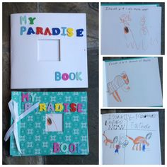 Family Worship Projects: My Paradise Book; Teach Your Children Lesson 14: A Kingdom That Will Rule the Whole Earth. Use dollar-store scrapbooks to make a book of illustrations of paradise prophecies. A work in progress...