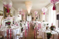 Bubblegum Balloons wedding