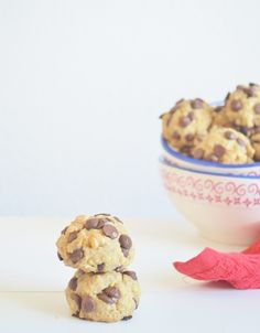 Sugar free chocolate chips and oats cookies by Mi dolce paradiso