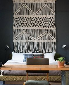 Modern-made Macrame Wall Hanging | Unique Macrame Wall Hangings You Can DIY; Check out Item #13