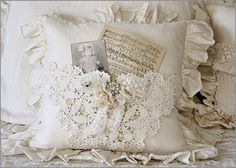 Ruffled Pocket Pillow