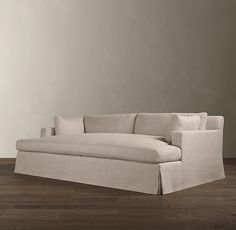 Belgian Track Arm Slipcovered Daybed Sofa | Fabric Seating | Restoration Hardware dream couch