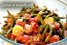 Kung Pao Chicken, Fruit Salad, Green Beans, Salad Recipes, Salads, Yummy Food, Diet, Snacks, Vegetables