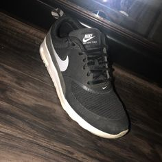 huge discount 589d4 dccf6 Nike Shoes   Nike Airmax Thea   Color  Black Gray   Size  6.5