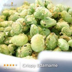 Crispy Edamame from Allrecipes.com #myplate #protein