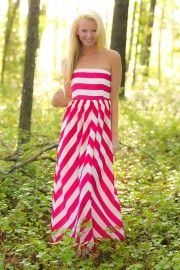 Reserved For The Best Maxi Dress-Fuchsia