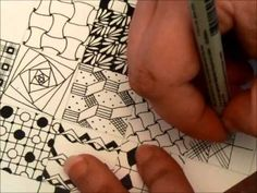 Zentangle Blocks. Fantastic array of patterns demonstrated. So inspiring! Thank you, Tiffany Lovering, for sharing!