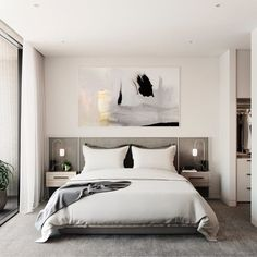 30 Minimalist Bedroom Decor Ideas that are Not Too much but Just Enough - Hike n. - - decorideas 30 Minimalist Bedroom Decor Ideas that are Not Too much but Just Enough - Hike n Dip. Modern Minimalist Bedroom, Minimal Bedroom, Modern Bedroom Design, Bedroom Designs, Modern Bedrooms, Minimalist Style, Contemporary Bedroom Decor, Eclectic Bedrooms, Eclectic Modern
