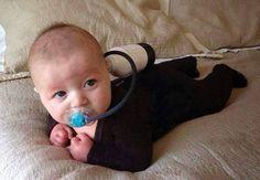 Purim baby costume idea , cheap and super cute!