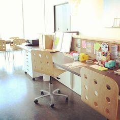 Ampersand Design Studio space