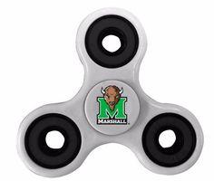 Marshall Thundering Herd White Fidget Spinners #RR #MarshallThunderingHerd Fidget Spinners
