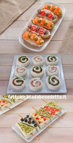 Party Finger Foods, Finger Food Appetizers, Appetizer Recipes, Wedding Food Menu, Easy Party Food, Tea Sandwiches, Xmas Food, Food Decoration, Food Platters