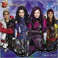 Disney Descendants Wall Calendar (2016): Day Dream: 9781629055763: Amazon.com: Books