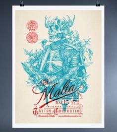 Corporate Identity for Malta's Dagger & Co. Tattoo Shop