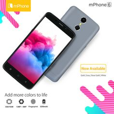 #mPhone6: Add More Colors to Life #Smartphone #Android #3GBRAM #3250mAh Battery   www.mphone.org