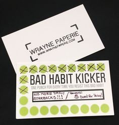 26 best card designs images on pinterest card designs card funny business cards punch by wraynepaperie cheaphphosting Images