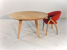Asti - Moderne ronde massief eiken eettafel voor een zeer scherpe prijs! De Tafelfabriek